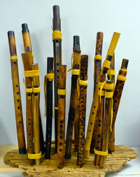 Native American Style Flutes by Hawk Hurst