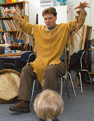 Hawk Hurst - Storyteller - Folk Musician - Performing Artist